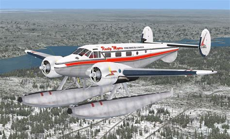 Beech Expeditor Mk.iii V2.1 Part 1 For Fsx