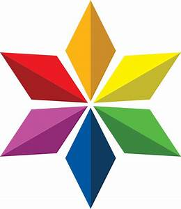 File:Six pointed Diaspora Star in rainbow colors.svg ...