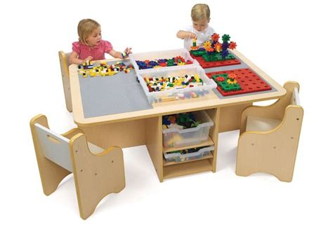 discount school supply activity table with storage