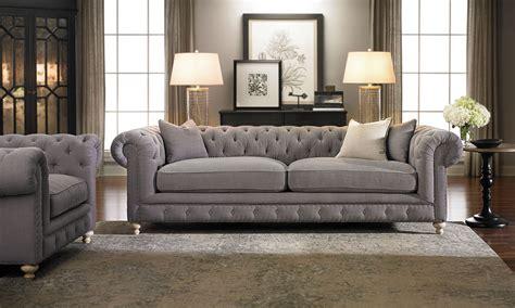 francis drake chesterfield grey sofahaynes furniture