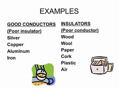 Conductors Heat Insulators Thermal Grade Energy Radiation