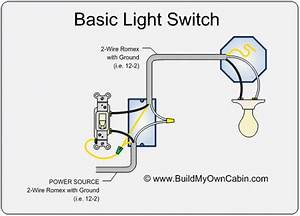 Standard Light Switch Diagram