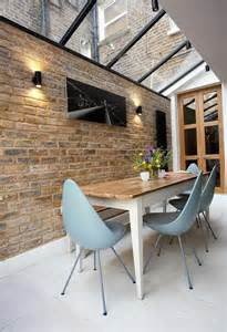 Dining Room Brick Accent Wall