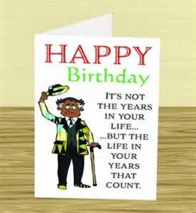 African American Happy Birthday Wishes for Men