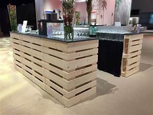 Geschirr Mieten Köln : paletten bar storage ecke buffets bars mobiliar profimiet shop k ln ~ Watch28wear.com Haus und Dekorationen