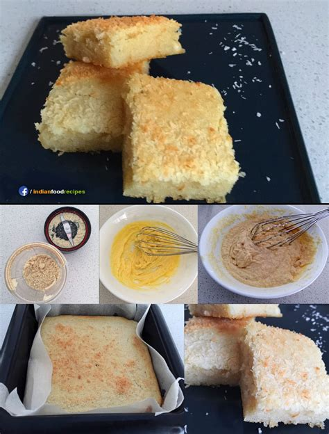 almond cashew cake recipe step  step pictures indian