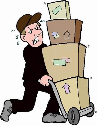 Delivery Clipart Package Deliver Parcel Clip Delivered