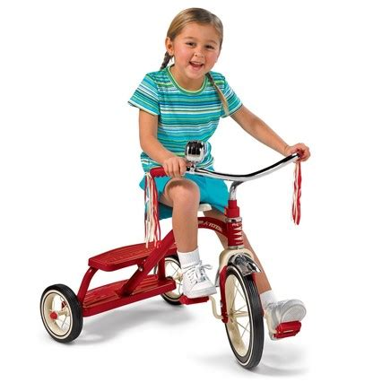 Radio Flyer Dual Deck Tricycle Australia by Tricycle Classic Dual Deck Radio Flyer 24m