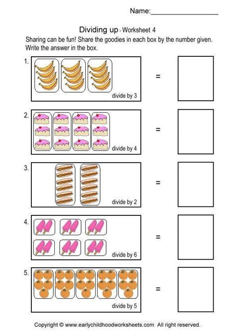 simple division worksheets  division worksheets