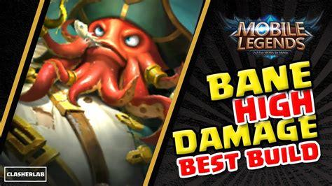 bane  build  high damage bane build mobile