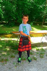 Boy at Blairsville Scottish Festival and Highland Games ...