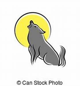 Symbole Du Loup : hurlement loup stands illustration falaise vecteur eps ~ Melissatoandfro.com Idées de Décoration