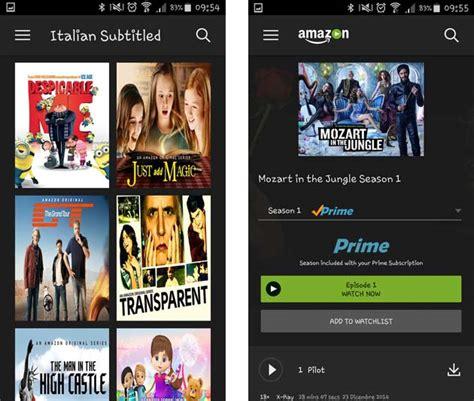 prime app android prime ufficiale in italia