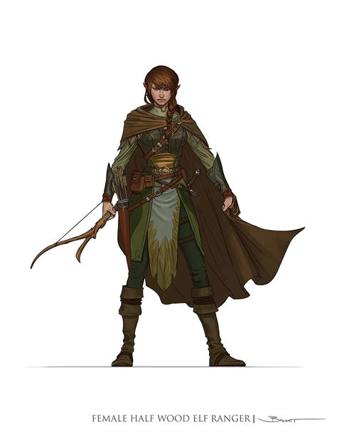 concept ranger john paul balmet dungeons and dragons 5th edition player