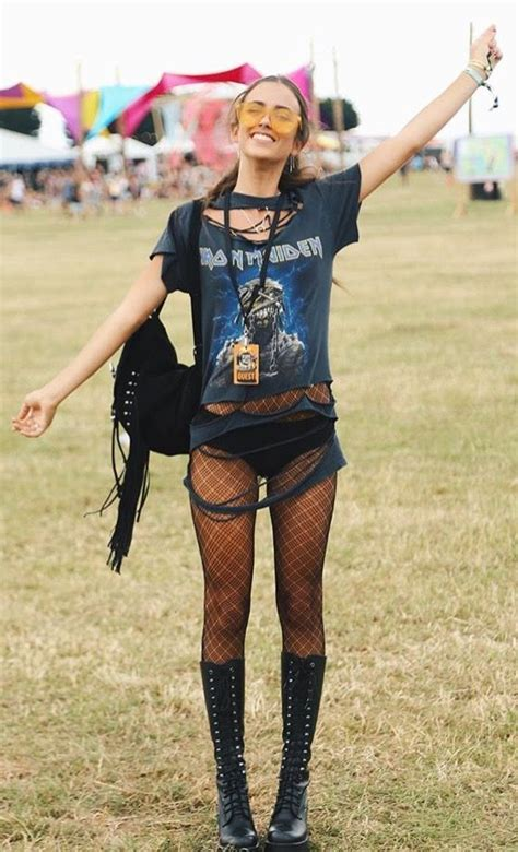 Music Festival Inspired Summer Outfits Wearing Tips/Makeups/Hairstyles Ideas You Need Try ...