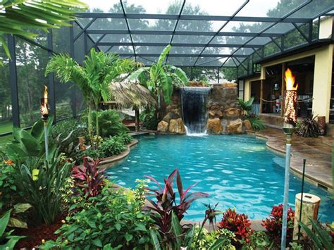 25 best ideas about tropical backyard on