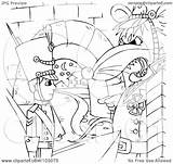 Soldier Outline Toy Coloring Rat Clipart Royalty Commanding Illustration Rf Bannykh Alex Regarding Notes sketch template