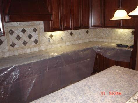 kitchen backsplash travertine travertine backsplash kitchen remodel