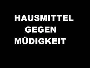 Hausmittel Gegen Mäuse Und Ratten : hausmittel gegen m digkeit und ersch pfung youtube ~ Michelbontemps.com Haus und Dekorationen
