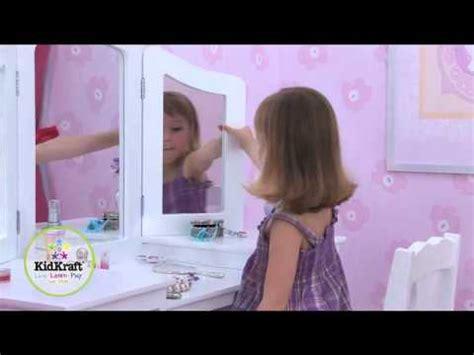 Coiffeuse Et Tabouret Princesse Rose Sur Bilboquetcom Doovi