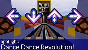 How To Play Dance Dance Revolution in Minecraft - YouTube