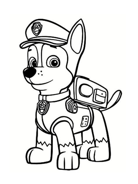 kopi abc white coloriage pat patrouille 30 dessins à imprimer