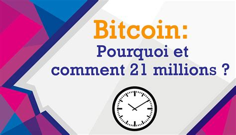 Bitcoin (₿) is a cryptocurrency invented in 2008 by an unknown person or group of people using the name satoshi nakamoto. Limite du Bitcoin: Comment et pourquoi 21 millions ? - Dici