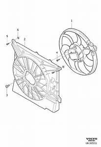 2004 Volvo Electrical Fan  Shroud  Inclusive