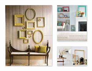 Wall decor and photo frames : Vintage empty frame wall decor