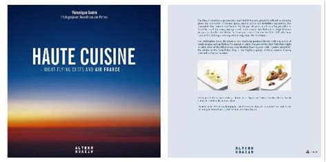 """Air France's Gourmet """"secrets"""" Are Revealed In New Book"""