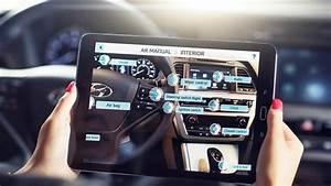 Hyundai Introduces An Augmented Reality Car Owner U0026 39 S Manual
