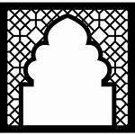 Icon Arabic Frame Window Ornament Mosque Icons
