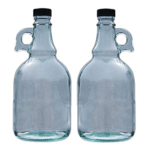 litre glass gallone bottle pack