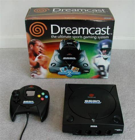 black dreamcast console