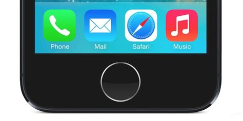 how to get the home button on iphone fix iphone 5s home button not working smartphonefixes