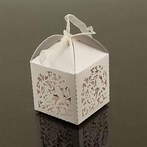 Cute garden bird favor candy box party wedding decorations for Favor boxes for wedding