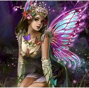 Butterfly Fairy Glowing Beautiful Abstract HD Wallpaper Pretty Fairies