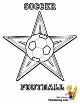 Soccer Coloring Ball Football Cup Fifa Yescoloring Sports Caf African sketch template