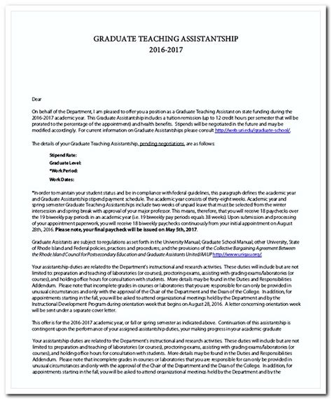 Graduate Teaching Assistant Cover Letter by How To Write A Great Cover Letter For A Teaching Position