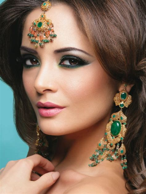 indian inspired hairstyles  makeup