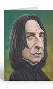 Professor Snape Birthday Sound Card by Loudmouth   DadShop