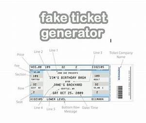 Fake ticket generator create your very own novelty concert ticket digital stamp freebies for Create concert tickets