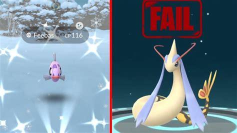 Shiny Milotic Evolution In Pokemon Go! Biggest Fail Event