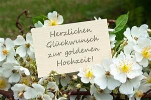Glückwunschkarten Zur Goldenen Hochzeit : gl ckw nsche und spr che zur goldenen hochzeit ~ Frokenaadalensverden.com Haus und Dekorationen