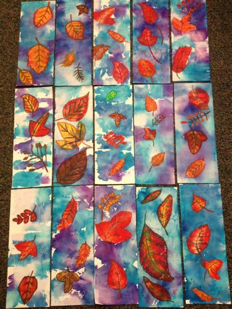 autumn art ideas images  pinterest