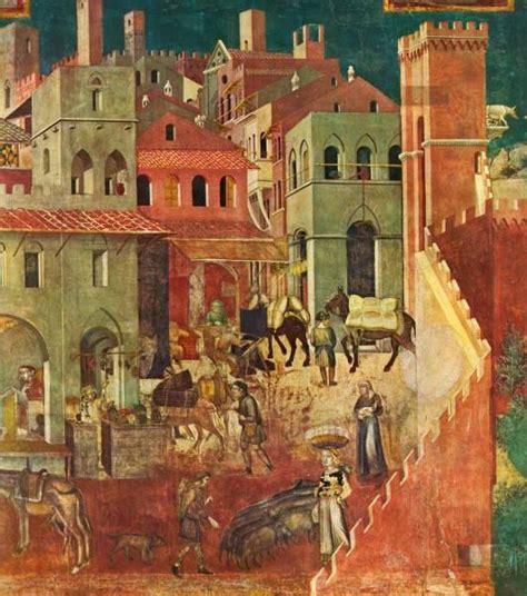 lorenzettis allegory  good  bad government