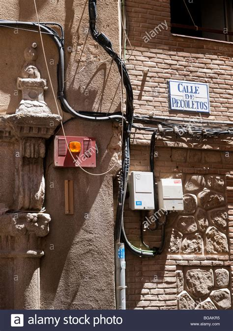 Electrical Wiring Outside by Electric Wiring Outside Of An House In Quot Recoletos