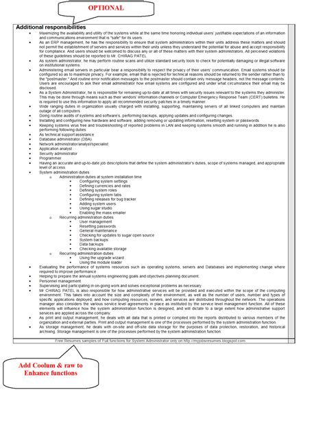 Mcitp Resume Format For Experience by Resume Sles For Network Administrator Fresher Seventh