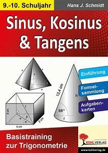 Sinus Berechnen Taschenrechner : kohl verlag sinus kosinus tangens basistraining zur trigonometrie ~ Themetempest.com Abrechnung
