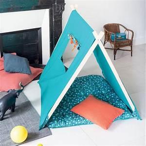 Fabriquer Tipi Enfant : diy fabriquer une tente ou un tipi pour enfant marie claire id es rangements jouets tipi ~ Voncanada.com Idées de Décoration
